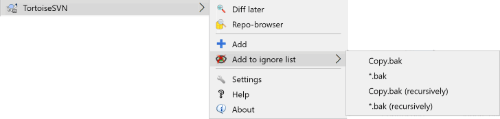 Ignoring Files And Directories